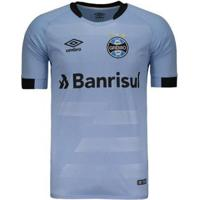 Camisa Umbro Grêmio Ii 2017 N°7 Luan Masculina - Masculino