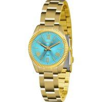 Relógio Feminino Lince Mesh Lrg4492L A3Kx - Unissex-Dourado