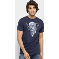 Camiseta Hd Core Sku Masculina - Masculino-Azul