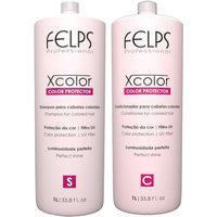 Kit Duo Xcolor Felps Shampoo 1000Ml+Condicionador 1000Ml