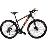 Bicicleta Aro 29 Ksw Cambios Shimano 27V Trava - Unissex