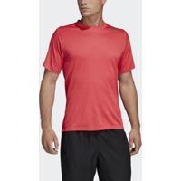 Camiseta Adidas Climachill Justa Freelift 360 Masculina - Masculino-Rosa
