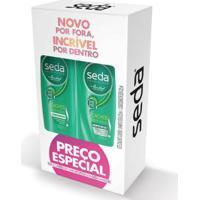 Kit Shampoo + Condicionador Seda Cachos Definidos 325Ml