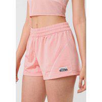 Short Adidas Originals Pespontos Rosa