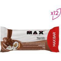 Barra Proteica Max Bar- Coco- 12 Unidadesprobiotica