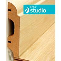 Rodapé Em Mdf Clean Studio - 5 Réguas De 8Cm X 2,1M - Durafloor - Durafloor
