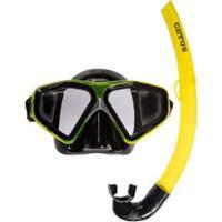 Kit Mergulho Máscara+Snorkel Cetus Rapallo Fun - Unissex