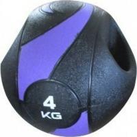 Bola Liveup De Peso Medicine Ball Ls3007A/4 Com Pegada 4Kg - Unissex