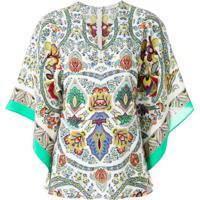 Etro Blusa Estampada De Seda - Estampado