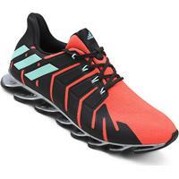 Tênis Adidas Springblade Pro Feminino - Feminino-Laranja+Preto