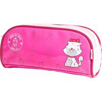 Estojo Kidsplash! Infantil Mimi Cat Rosa