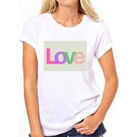 Camiseta Coolest Quadro Pilates Amor Feminina - Feminino