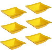 Saladeira Vemplast Moove Amarelo - Amarelo - Dafiti