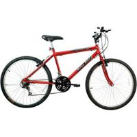Bicicleta Mega Bike Thunder Sport Aro 26 Freios V-Break Quadro Aço 21V - Unissex