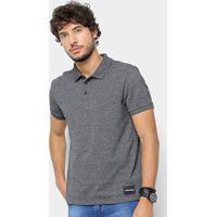 77c8a8fa5 ... Camisa Polo Calvin Klein Mesclada Masculina - Masculino