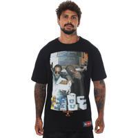 Camiseta Prison Notorious Big Juicy Preta.
