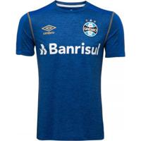 Camiseta Masculina Umbro Grêmio Aquecimento 2019
