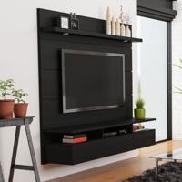 Painel Para Tv 60 Polegadas Horizon Preto Touch E Preto Gloss 181 Cm