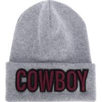 Dsquared2 Gorro 'Cowboy' De Lã - Cinza