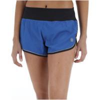 Shorts Asics Regional Run Printed - Feminino - Azul