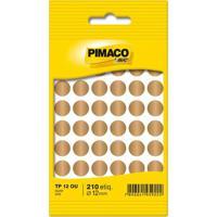 Etiqueta Adesiva Pimaco Circular Tp-12 Ouro Com 350 Unidades