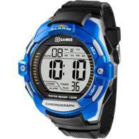 Relógio Masculino X-Games Xmppd433 Bxpx - Unissex-Prata
