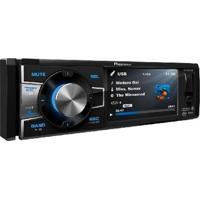 "Dvd Player 1Din Tela De 3,5"" Cd/Dvd/Usb/Am/Fm/Bt E Auxiliar Com Controle Remoto Dvh-8880Avbt"