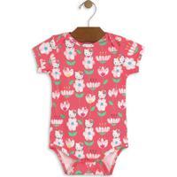Body Hello Kitty® Floral- Rosa & Brancohello Kitty
