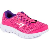 Tênis Box 200 Running - Masculino-Pink+Roxo
