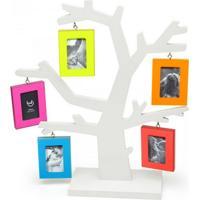 Porta Retrato Ludi Arvore Colorida Multicolorido