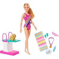 Boneca Barbie - Dreamhouse - Adventures - Barbie Nadadora - Mattel Ghk23