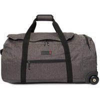 Mala Masculina Duffle Bag On Wheels - Cinza