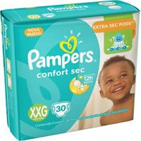Fralda Pampers Confort Sec - 30 Unidades - Unissex