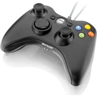 Controle Para Xbox 360 E Pc Multilaser, Função Dual Shock - Js063