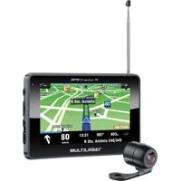 Gps Tracker Multilaser 4.3'', Tv Digital, Câmera De Ré - Gp035