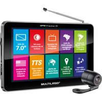 Gps Tracker Multilaser 7.0'', Tv Digital, Câmera De Ré - Gp039