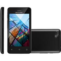 Smartphone Multilaser Ms40S Preto, Quad Core, 8Gb, Bluetooth, Dual Chip, Cã¢Mera