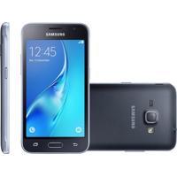 Smartphone Samsung Galaxy J1 2016, Dual, 8Gb, 5Mp, 3G, Preto, Vivo - J120