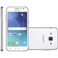 Smartphone Samsung Galaxy J2 Duos, 4G, 8Gb, 5Mp, Branco, Oi - J200B