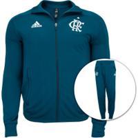 Agasalho Do Flamengo 2020 Adidas - Masculino - Azul Escuro