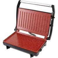 Sanduicheira E Grill Press Inox Redstone Britânia 127V