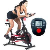 Bicicleta Spinning Ergométrica Redkikos - Roda In: 10Kg - Freio - Resistente - Bskf5 - Unissex