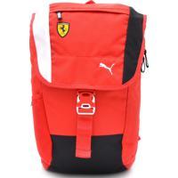 6f3420853 Dafiti; Mochila Puma Scuderia Ferrari Fanwear Ba Vermelha