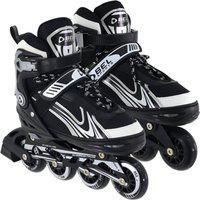 Patins Rollers Inline Aluminium 500 Bel Sports Preto