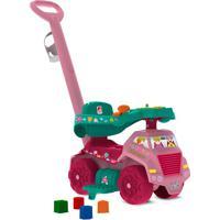 Carrinho Infantil De Passeio E Andador Jardinagem-Bandeirante - Rosa