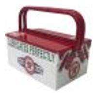 Caixa De Ferramentas Personalizada 3 Compartimentos Texaco