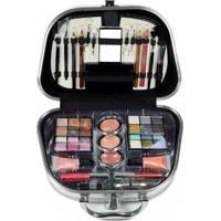 Maleta De Maquiagem Glamourosa Fenzza Hzp928 Colorido