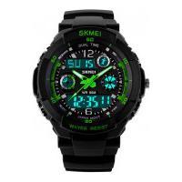 Relógio Skmei Infantil -0931- Preto E Verde