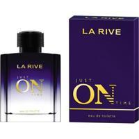 Just On Time La Rive - Perfume Masculino- Eau De Toilette 100Ml - Unissex-Incolor