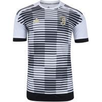867b17c13b Camisa Pré-Jogo Juventus 17 18 Adidas - Masculina - Branco Preto